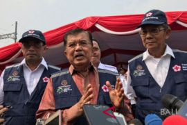 Wapres lepas keberangkatan PMI relawan Siaga Lebaran