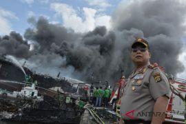 Polresta Denpasar belum tetapkan tersangka kebakaran kapal