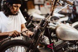 Kedux; sang kreator modifikasi motor asal Denpasar