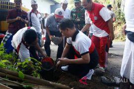 Bupati Klungkung hadiri pembukaan proyek Padat Karya