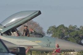 Latihan tempur, delapan pesawat F-16 Indonesia ke Australia