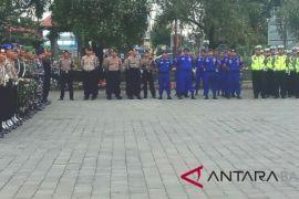 Ratusan personel gabungan Jembrana amankan Obor Asian Games