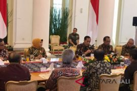 Presiden Jokowi ingin pemerintahan pusat-daerah segaris