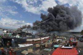 Di Benoa, 39 unit kapal ikan terbakar (video)