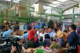 Presiden Jokowi blusukan di Pasar Kranggan Yogyakarta