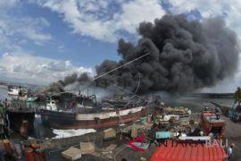 Polresta Denpasar periksa 14 saksi kebakaran kapal