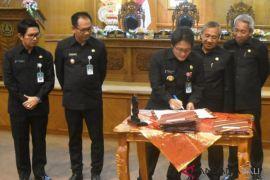 DPRD-Pemkab Badung sepakati tujuh dokumen perda dan SMA baru