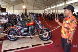 Kontes motor modifikasi peluang angkat UKM Bali