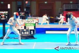 Pertandingan anggar hari kedua perebutkan dua medali emas (video)