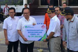 BPJS Ketenagakerjaan serahkan bantuan korban gempa Lombok