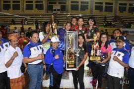 Club RGS juara I Putra Kejuaraan Bola Voli