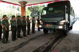 Korem Wirasatya distribusikan logistik ke Lombok