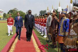 Jokowi sambut Presiden Namibia dengan upacara kenegaraan