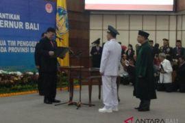 Mendagri minta Hamdani jaga stabilitas Bali (video)
