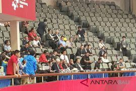 Presiden Jokowi kunjungi arena pertandingan taekwondo