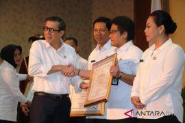 Menkumham resmikan 14 desa/kelurahan sadar hukum