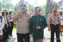 Kapolda Bali ajak Puri Agung Mengwi sambut IMF-WB