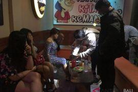 Jelang IMF, Polrestas Denpasar razia hiburan malam