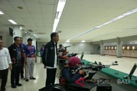 Presiden Jokowi tinjau latihan atlet Asian Para Games