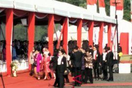 Ibu Negara hadiri Upacara HUT Ke-70 Polwan