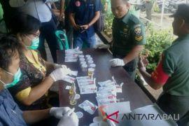 Puluhan anggota Kodim Jembrana ikuti tes narkoba
