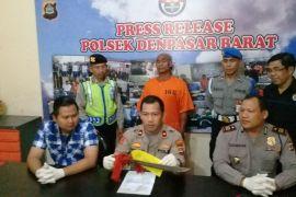 Polisi Denpasar tahan pelaku penebasan gunakan parang