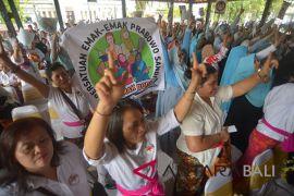 Deklarasi emak-emak dukung Prabowo-Sandi