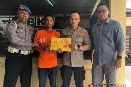 Penyelundup Sabu-Sabu Ke LP Kerobokan ditahan Polisi Badung