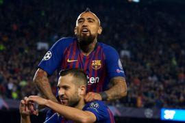 Barcelona tanpa Messi kalahkan Inter Milan 2-0