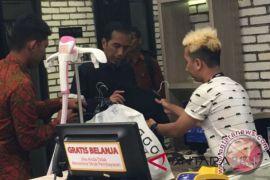 Presiden jalan-jalan ke Mal Ciputra Semarang