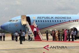 Presiden Jokowi bertolak ke Jatim