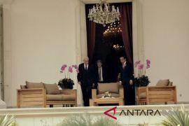 Presiden Jokowi terima Menlu Palestina