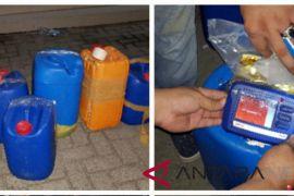 BNN gagalkan transaksi 50 kilogram sabu-sabu dalam jerigen