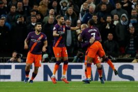 Manchester City kalahkan Tottenham 1-0