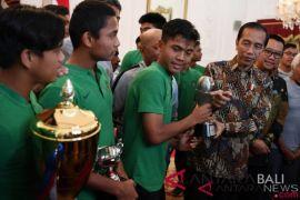 Presiden janjikan BUMN bapak angkat Timnas U-16