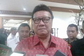 Mendagri minta kepala daerah izin lakukan deklarasi paslon
