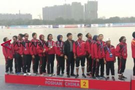 Indonesia raih dua emas Kejuaraan Perahu Naga se-Asia ke-13