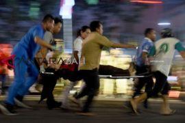 Peringatan hari pahlawan di Surabaya berubah menjadi tragedi