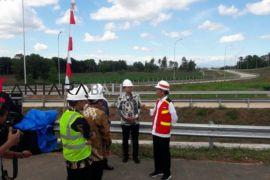 Presiden tinjau pembangunan tol Trans Sumatera