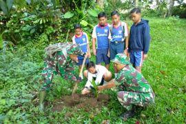 Kodim Tabanan menanam 900 pohon karya bhakti penghijauan