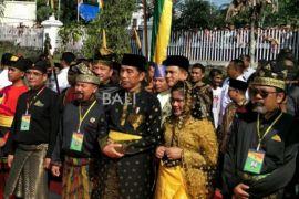 Kini gelarnya, Datuk Seri Setia Negara Joko Widodo