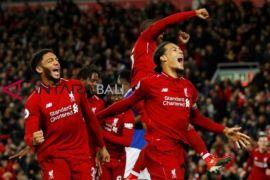 Hasil dan klasemen Liga Inggris, Liverpool tempel ketat City