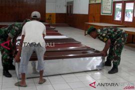 Delapan jenazah korban penembakan di Nduga tiba di Timika