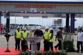 Terbengkalai 21 tahun, Presiden resmikan tol  Bogor-Sukabumi
