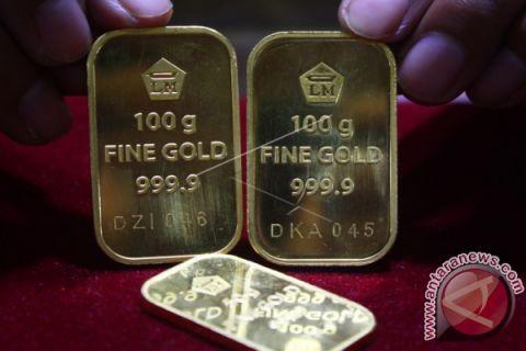 Kontrak emas berjangka naik
