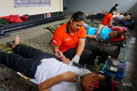 Wabup Klungkung hadiri kegiatan donor darah