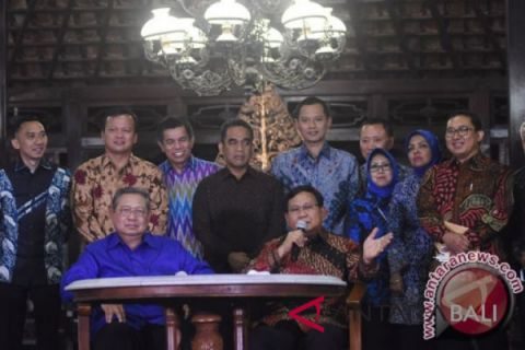 Bahas koalisi, Elit Demokrat dan Gerindra bertemu