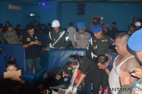 Denpom Denpasar dan tim gabungan razia hiburan malam