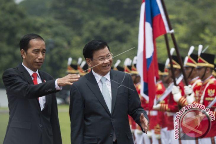 Presiden Jokowi Terima Kunjungan PM Laos di Istana Bogor