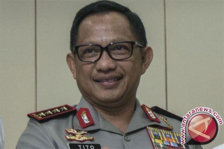 Kapolri anugerahi tujuh pejabat negara Bintang Bhayangkara Utama
